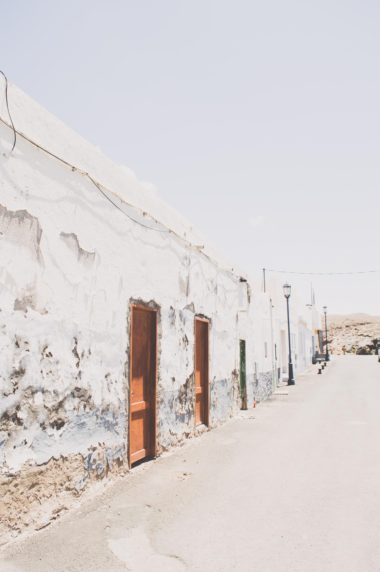 village blanc à Ajuy