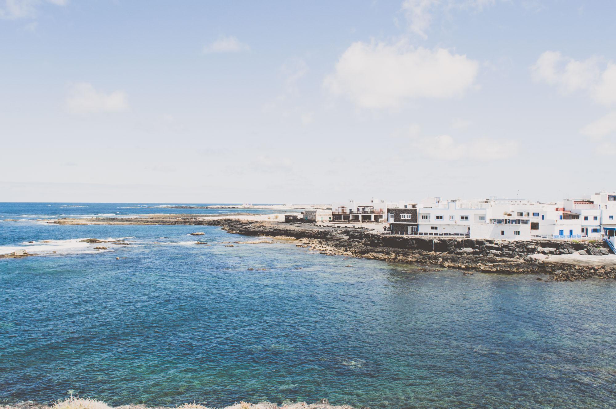vue sur El Cotillo, joli village de Fuerteventura