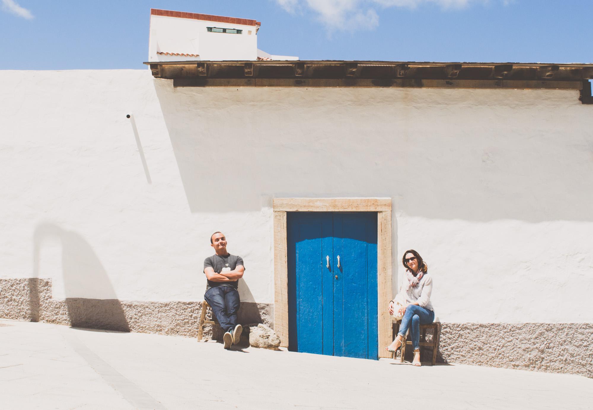 promenade dans les ruelles de El Cotillo