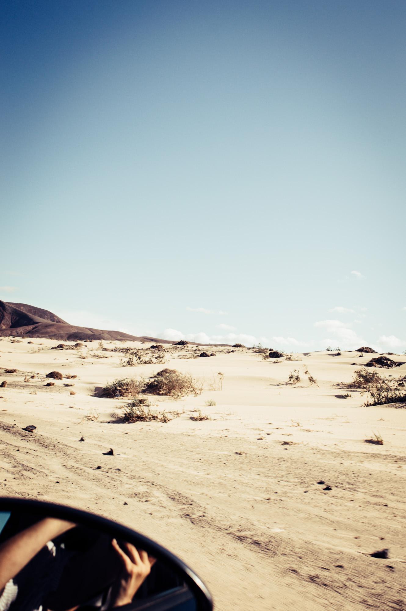 dunes de sable canaries