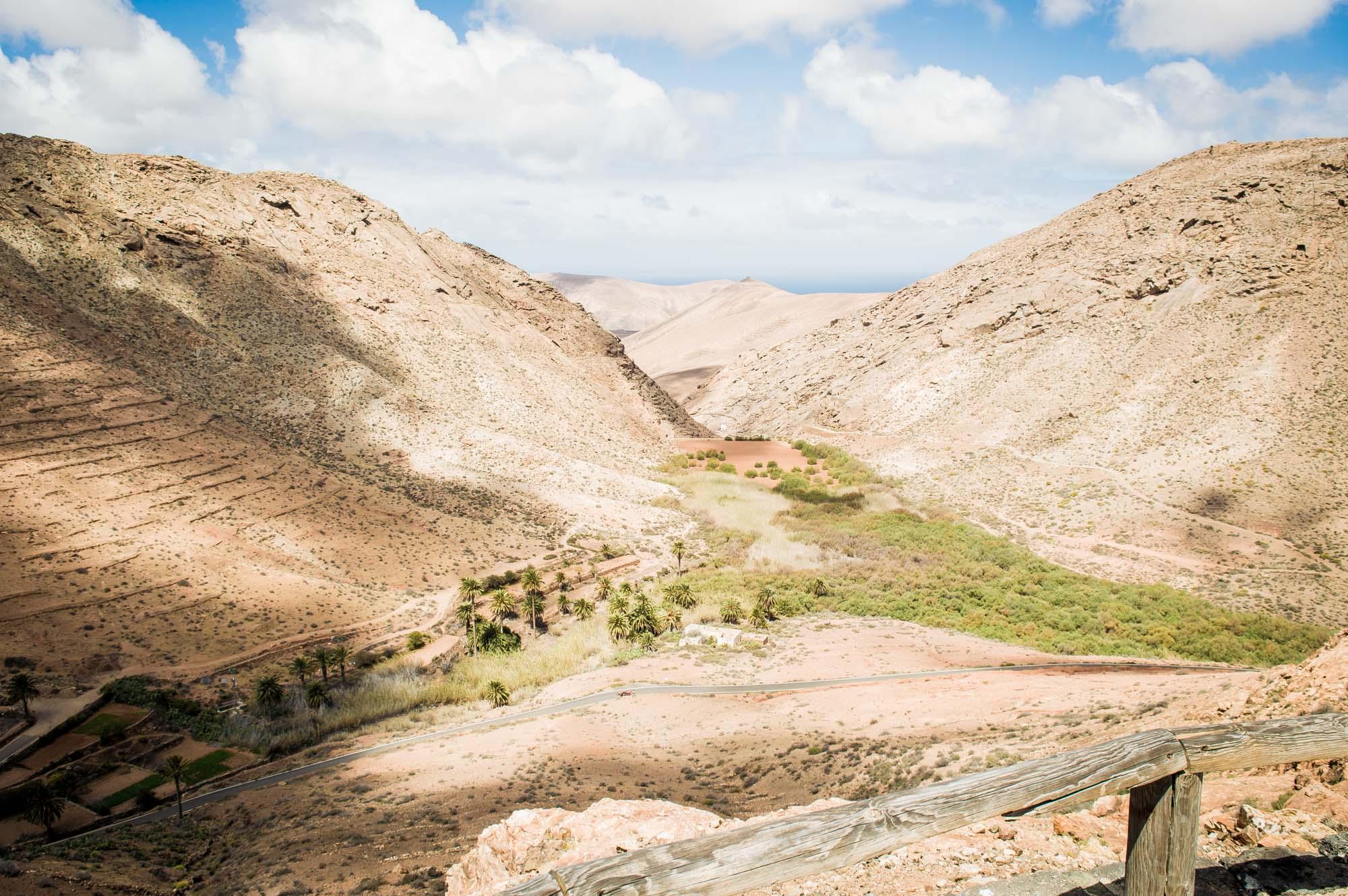vue panoramique à Fuerteventura