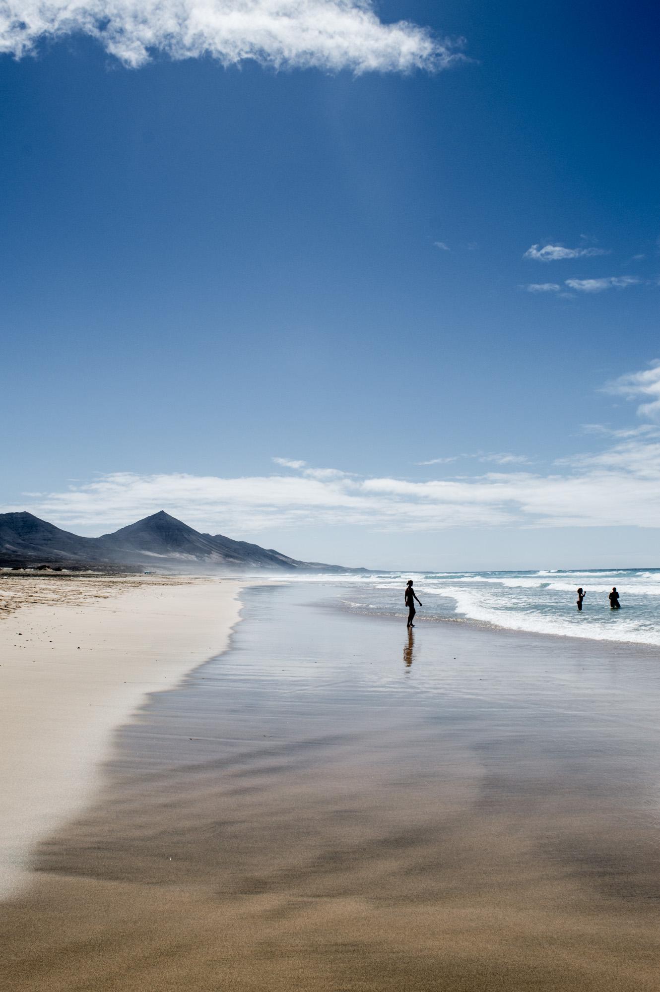 plage de cofete à Fuerteventura