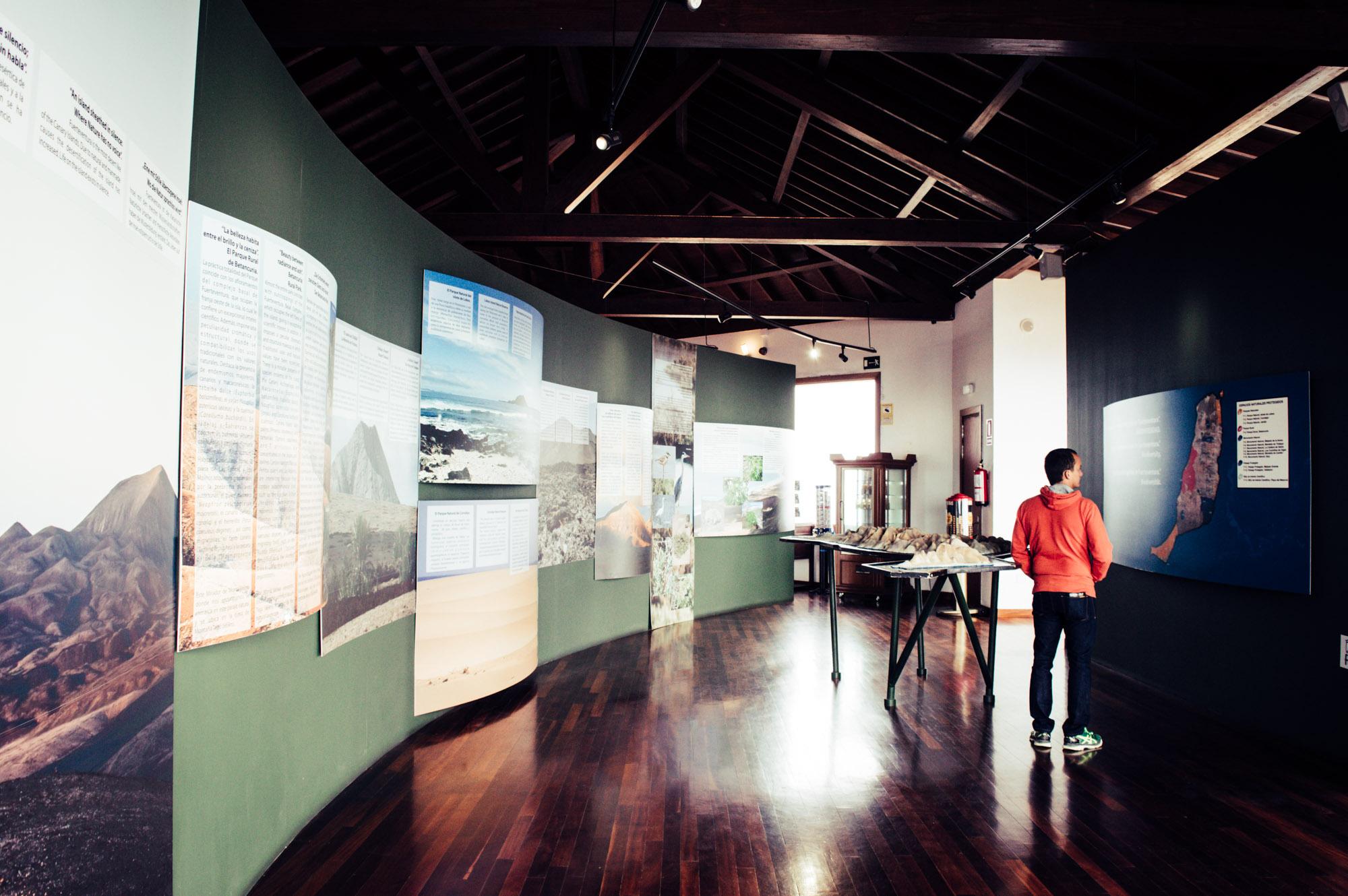 dans le musée Morro velosa