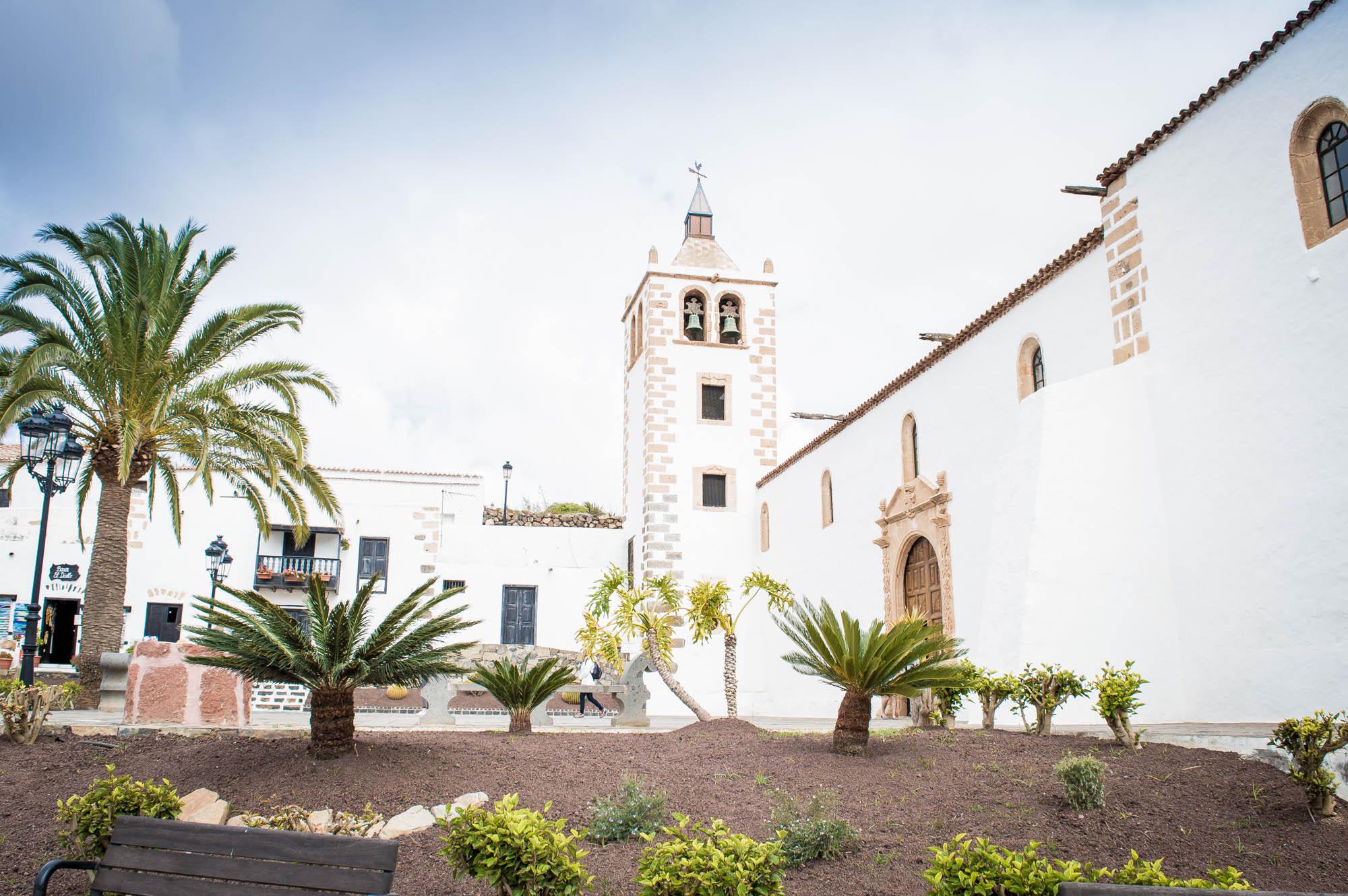 place de l'église de Betancuria