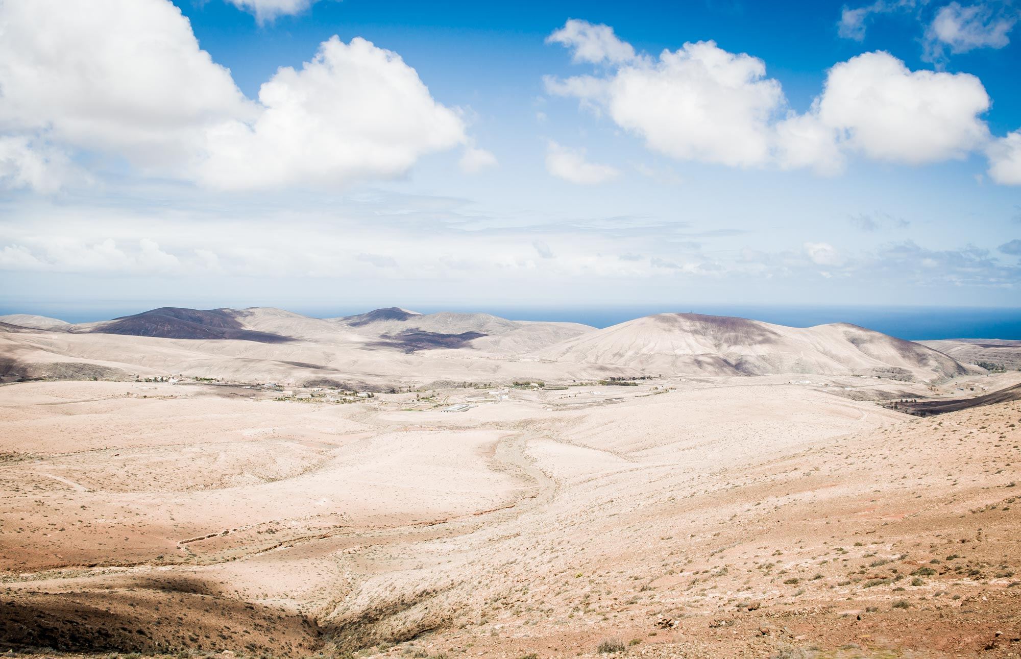 vue depuis le mirador de Pajara