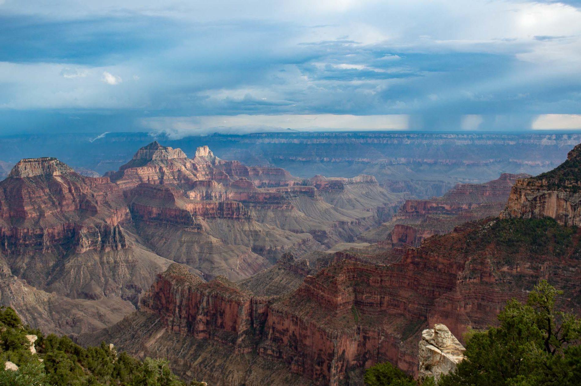 visiter la rive nord au Grand Canyon