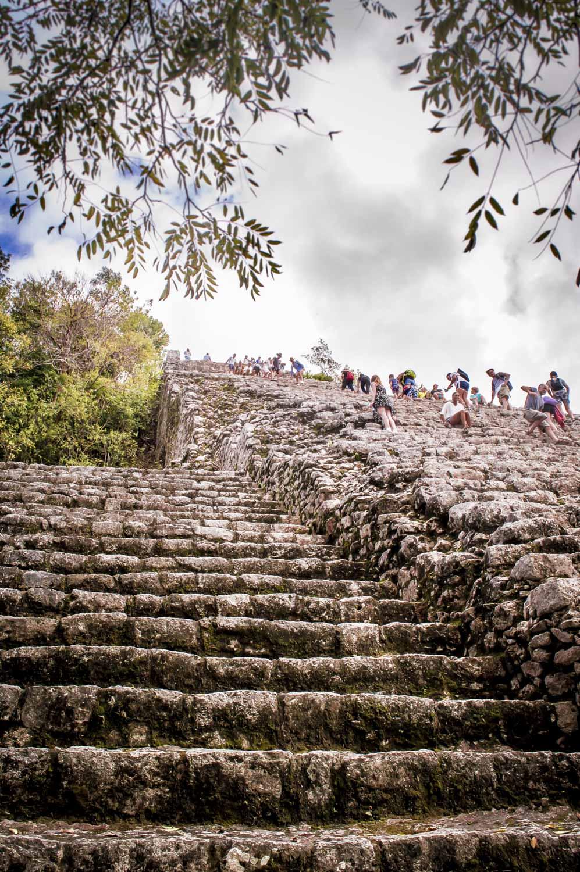 ruines mayas de coba proche de tulum