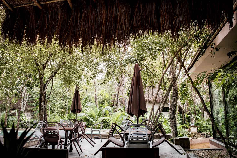 piscine restaurant Itzincab à tulum