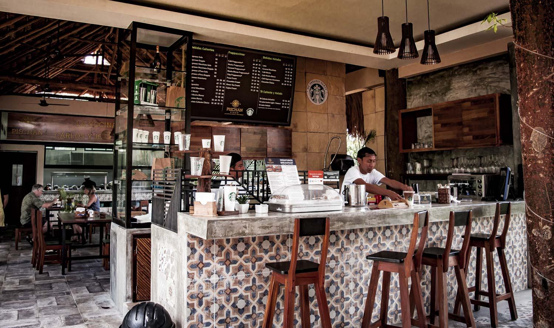 bar Starbucks à tulum