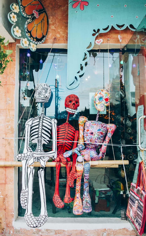 squelettes mexicains