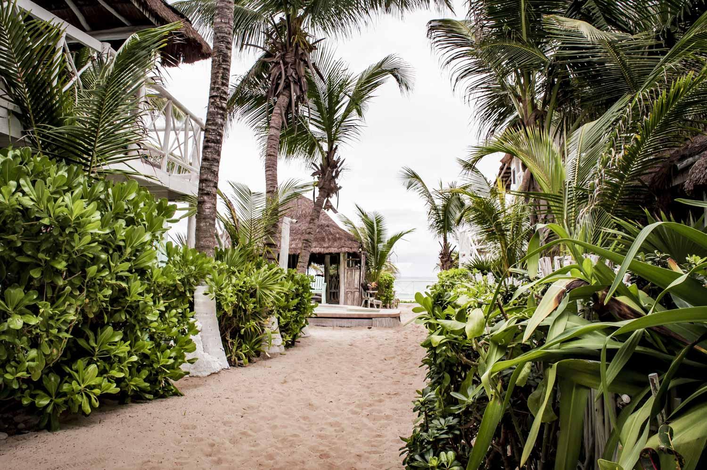 plage de l'hôtel punta piedra beach posada