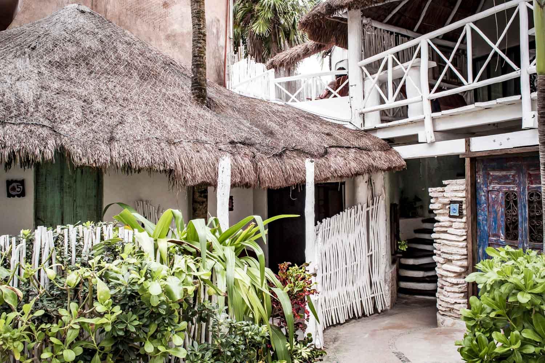 bungalow de l'hôtel punta piedra beach posada à tulum