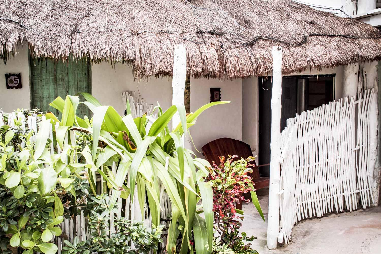 bungalow de l'hôtel punta piedra beach posada