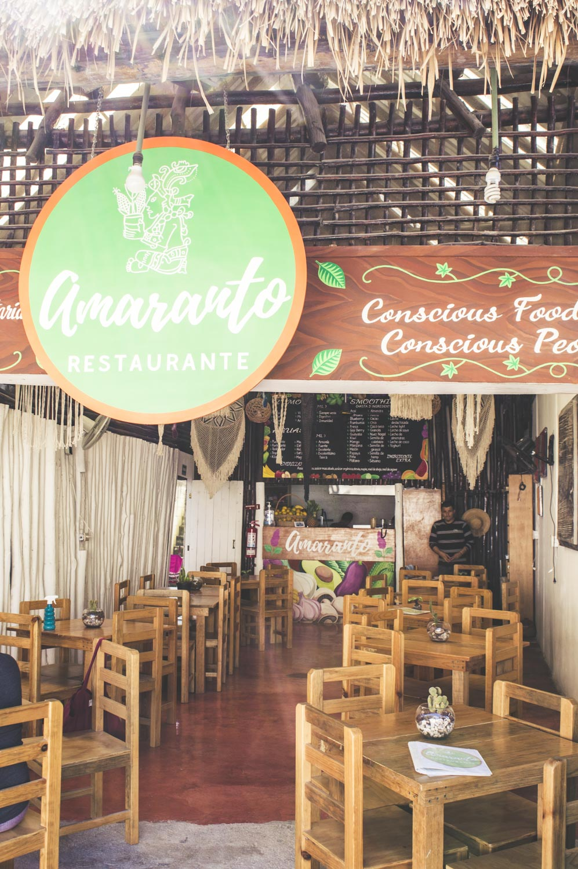 cuisine healthy au restaurant amarante de tulum