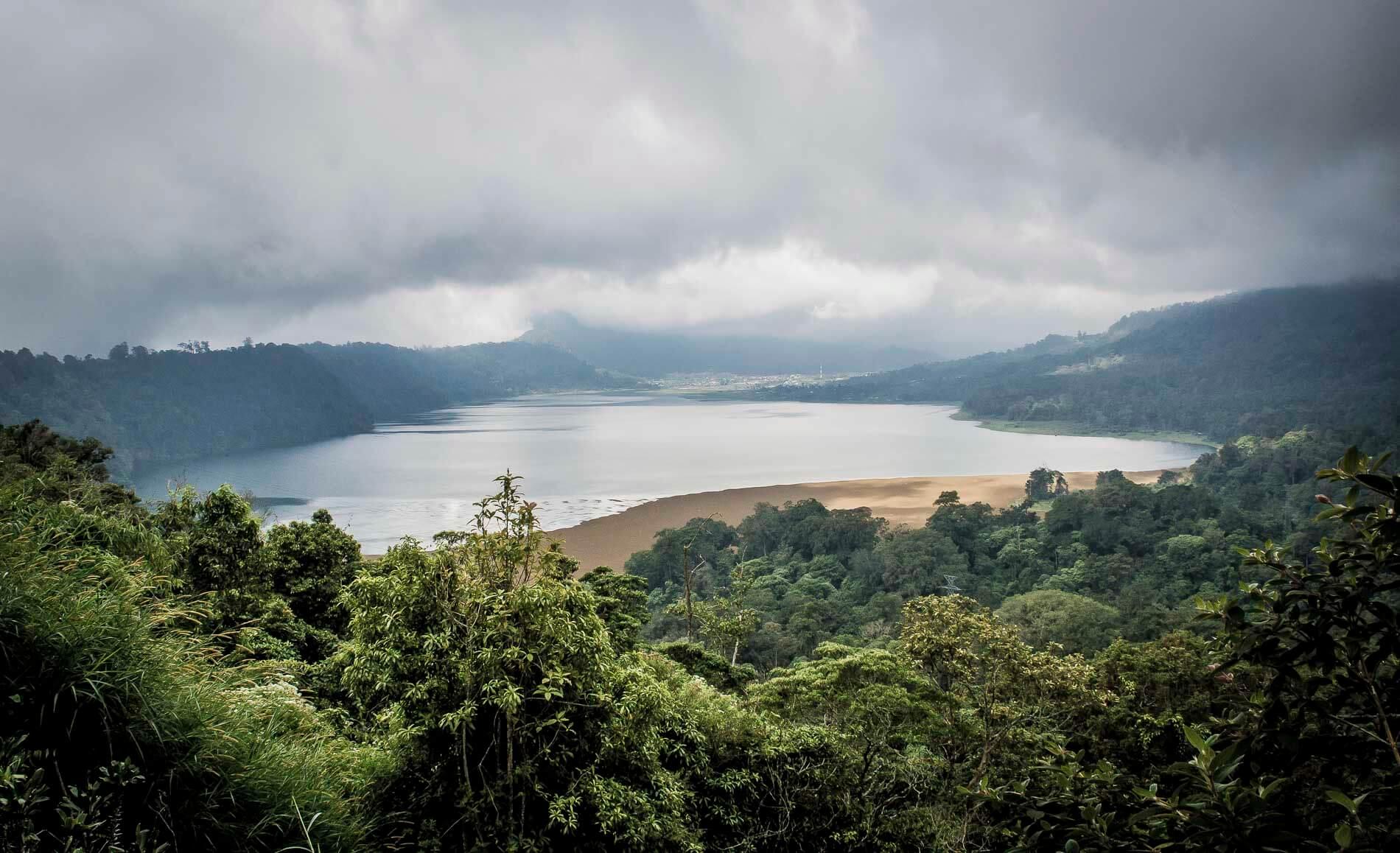vue sur le lac Buyan