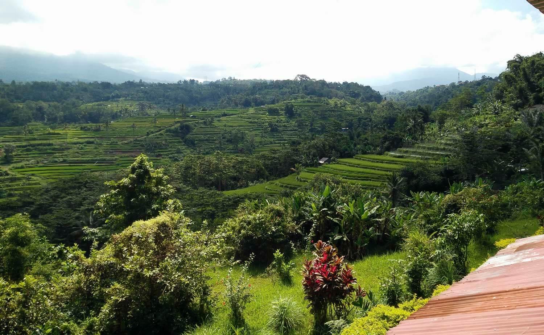 vue du restaurant panoramique de pacung