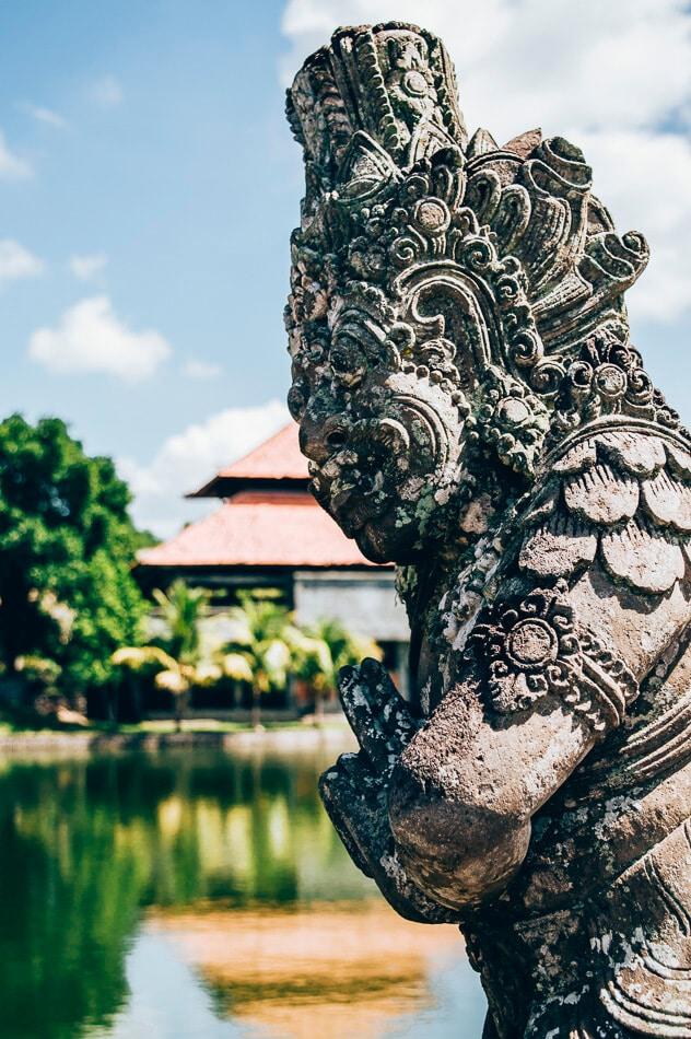 statue balinaise à mengwi