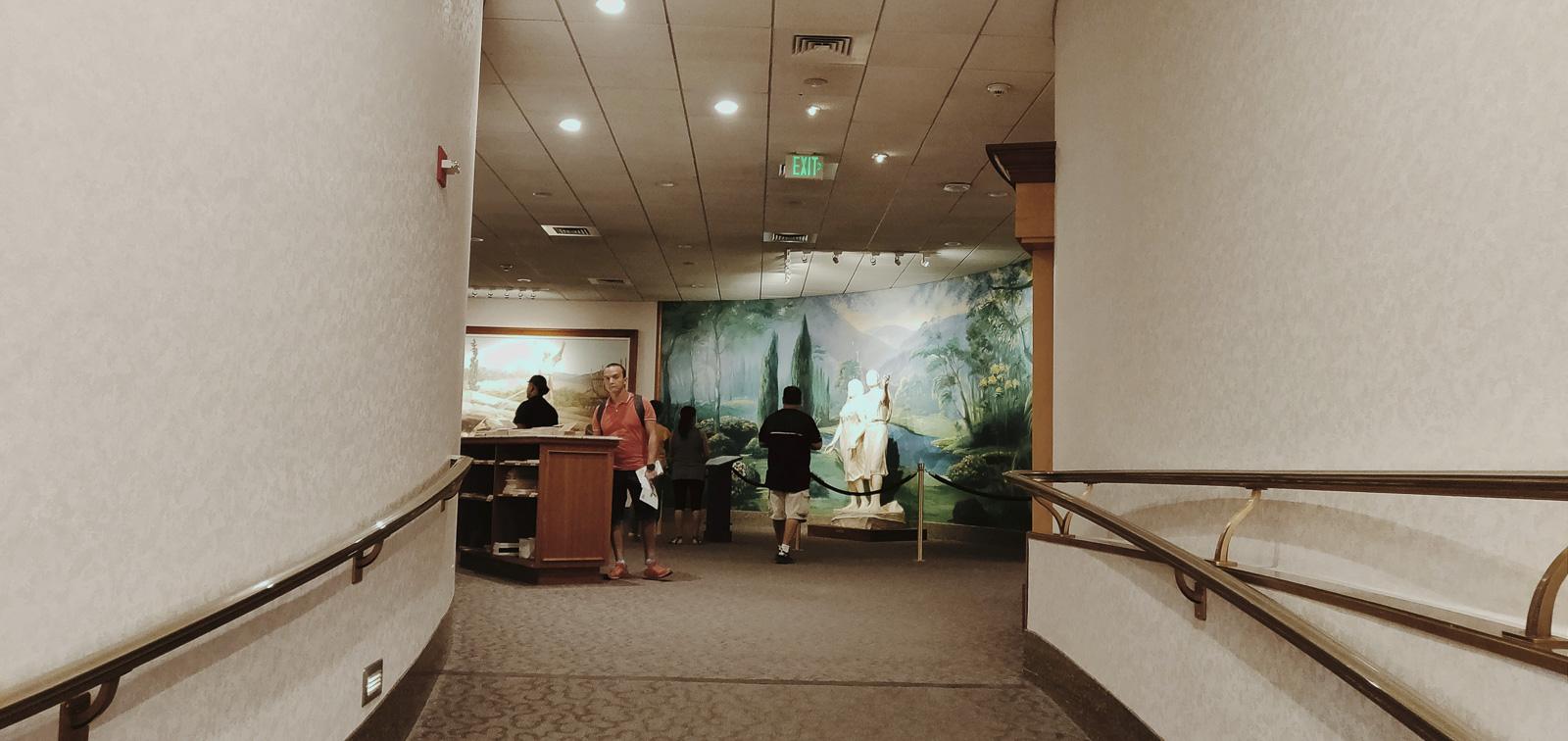 salle des peintures mormonnes