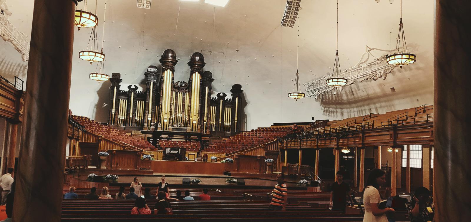 orgue du tabernacle mormon